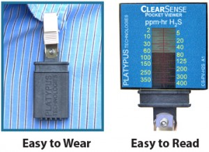 ClearSense™ H₂S Direct-Read Dosimeter Products
