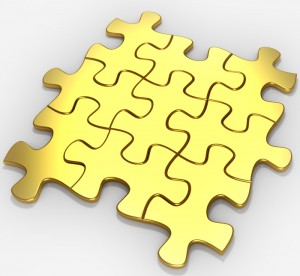 Ultra-Flat Gold Films - Gold Puzzle